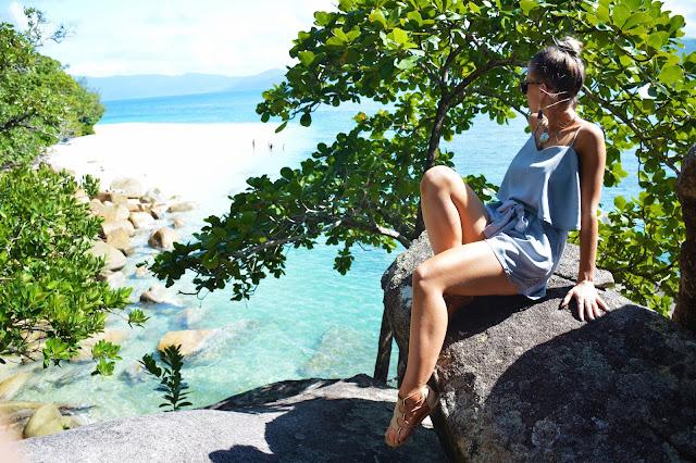 Beach paradise girl