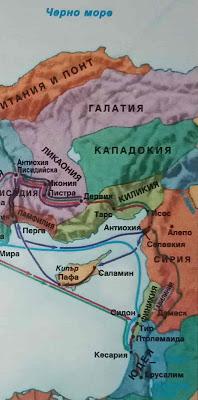 Киликия (карта)