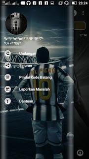 Tema BBM MOD Del Piero Juventus v3.3.1.24 APK