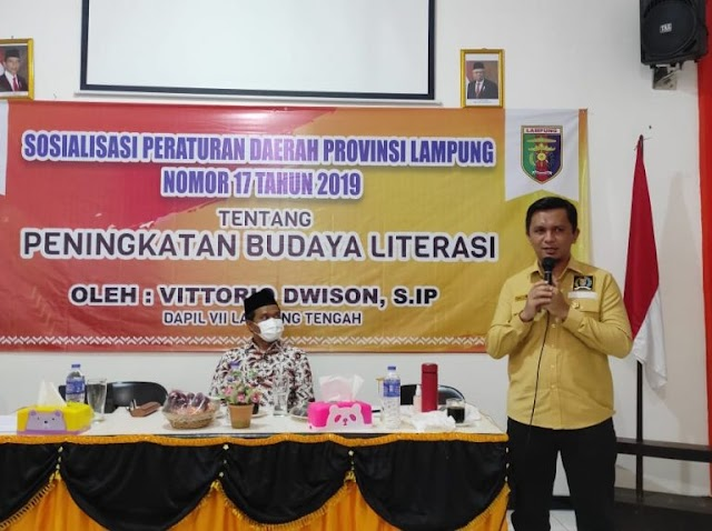 Vittorio Dwison Sosperda di Lampung Tengah