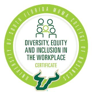 Diversity, Equity and Inclusion in the Workplace Certificate, 2021-Present