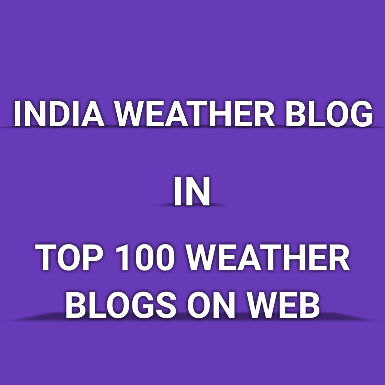 India Weather Blog in the Top 100 Weather Blogs on the web. Click below image for detail info.
