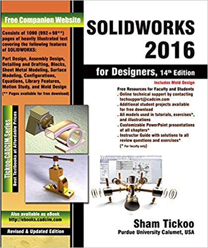 SOLIDWORKS 2016 for Designers, 14th Edition