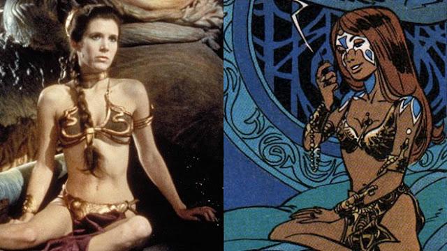 Star Wars se inspiró claramente en el universo visual creado por Pierre Christin, Jean-Clases Mézières y Évelyne Tranlé.