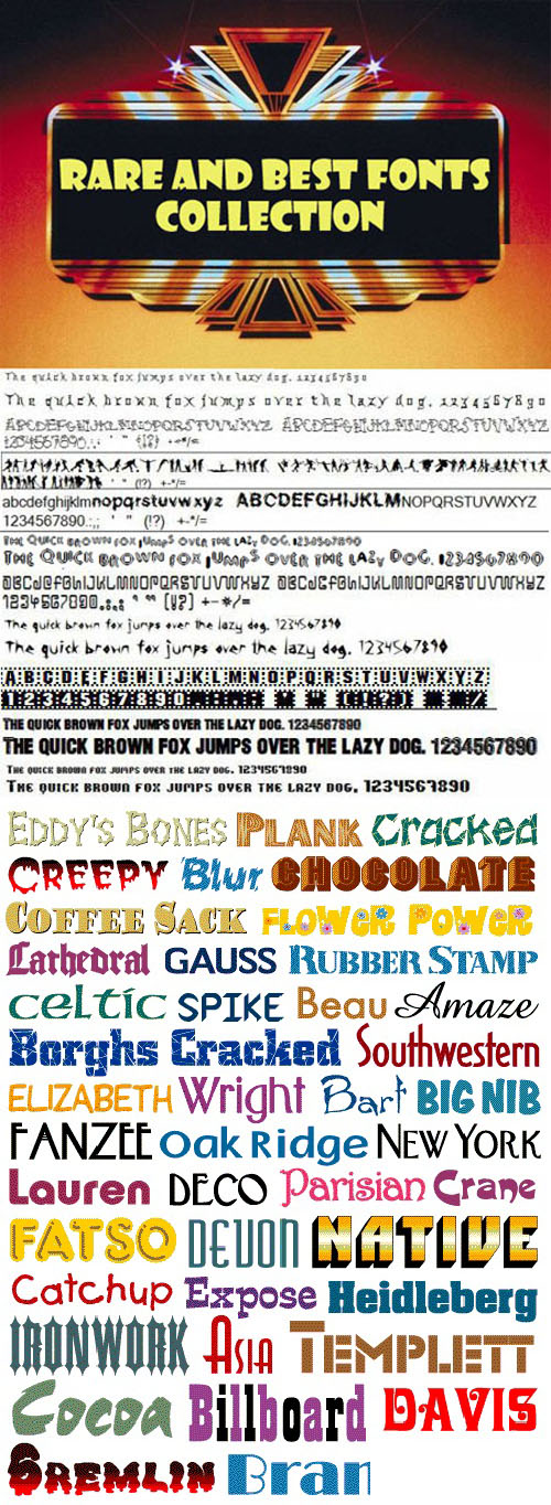 Mega-Fonts-Collection - 9479-Awesome-Fonts
