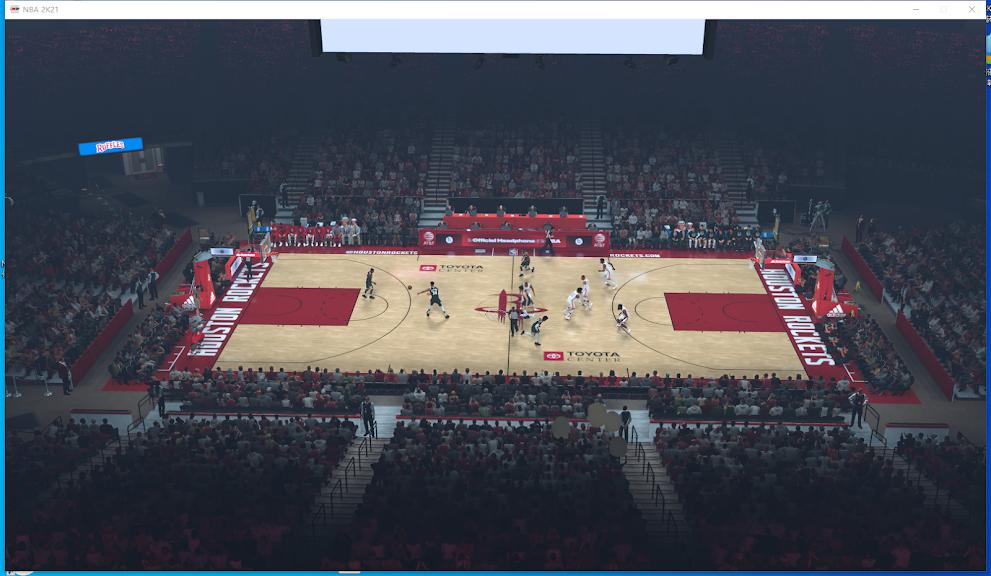 NBA 2K21 Mist Effect Patch by 美丽的小公主 [FOR 2K21]
