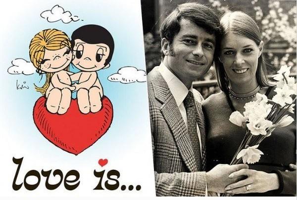 Как появились комиксы Love is. Печальная история любви.