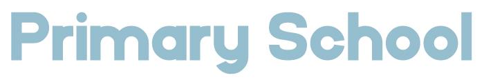 Primary School Font