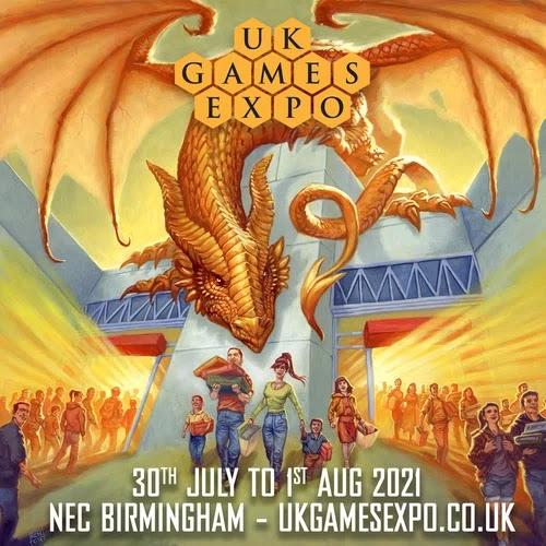 UK Games Expo Flyer