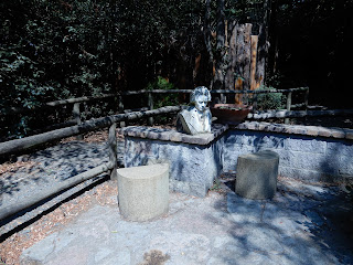 Parco Gallorose(ガッロロゼ公園)ベートーベンの像