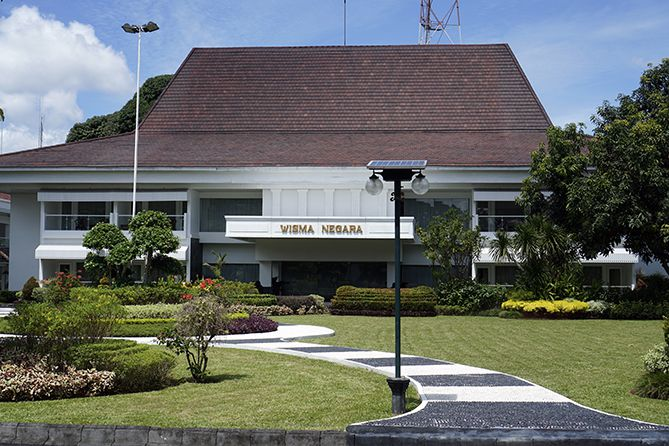 Gedung Wisma Negara di Yogyakarta