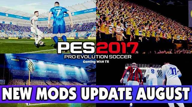 PES 2017 New Mods Update September 2021