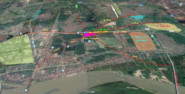 bán Dự án chung cư Kosy Complex Đông Anh xã Kim Nỗ, huyện Đông Anh, Hà Nội
