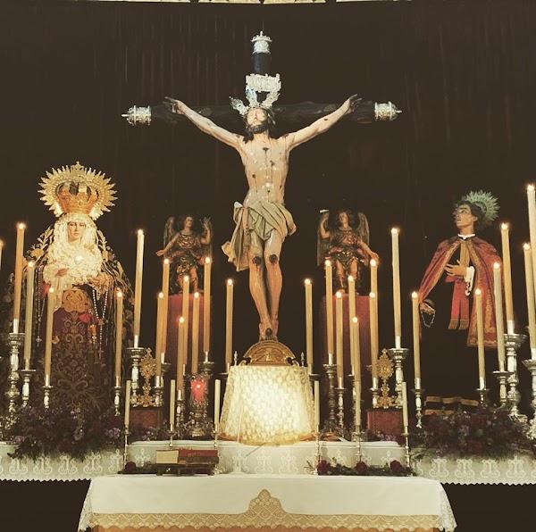 Traslado de los Titulares de la Hermandad de la Expiración de Cádiz a San Lorenzo