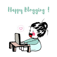 happy blogging with ewafebri