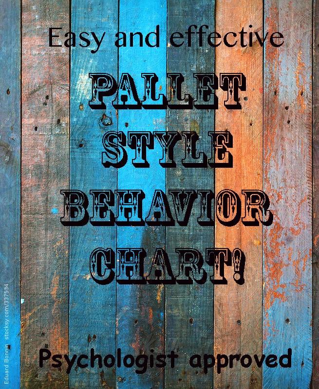 DIY Behavior Chart