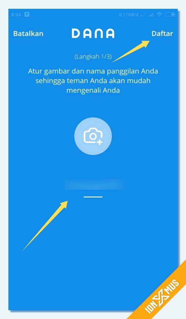 Cara Daftar Aplikasi DANA