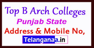 Top B Arch Colleges in Punjab