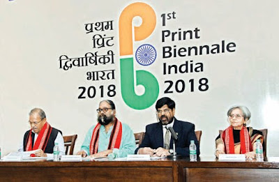 Print Biennale India 2018: First International Exhibition Held in New Delhi