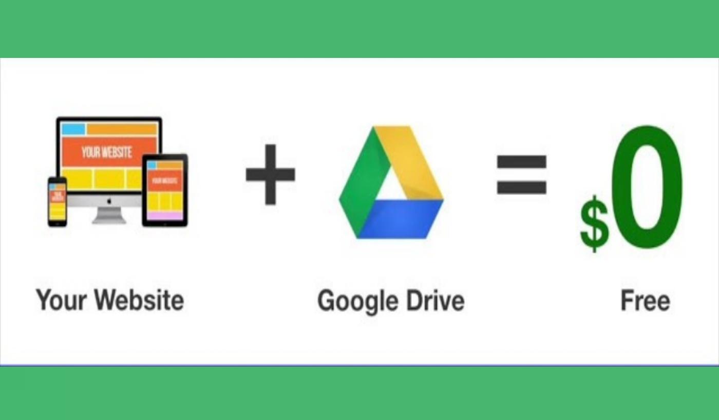 كيفية إستخدام Google Drive لإستضافة ملفات موقعك مجانا