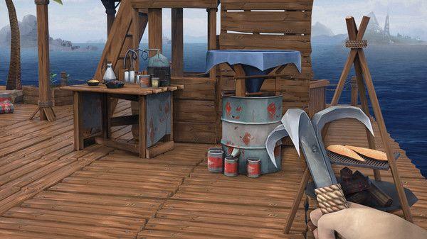Ocean Nomad: Survival on Raft PC Full Español