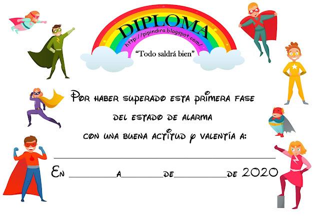 Diploma especial #quedatenecasa
