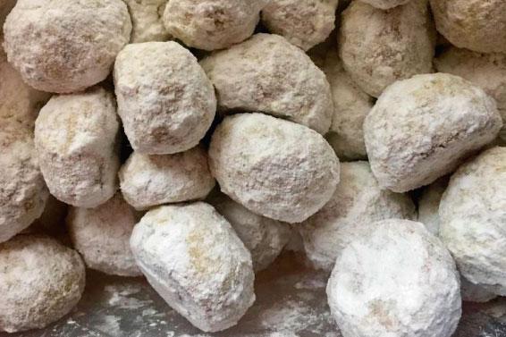Cómo hacer galletas BESOS DE NUEZ