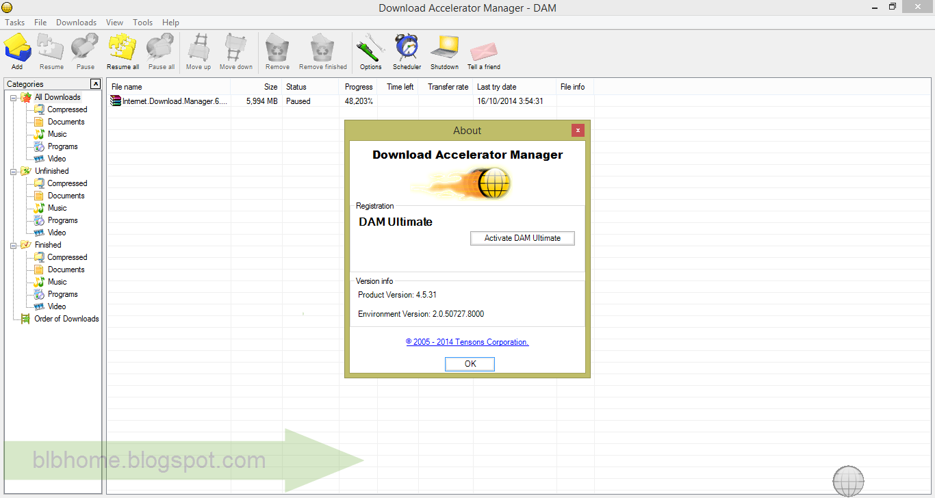 Dam Ultimate Activation Code Free Download
