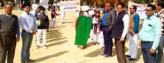 पर्यावरण एवं ईको क्लब ने निकाली स्वच्छता रैली  | #NayaSaberaNetwork
