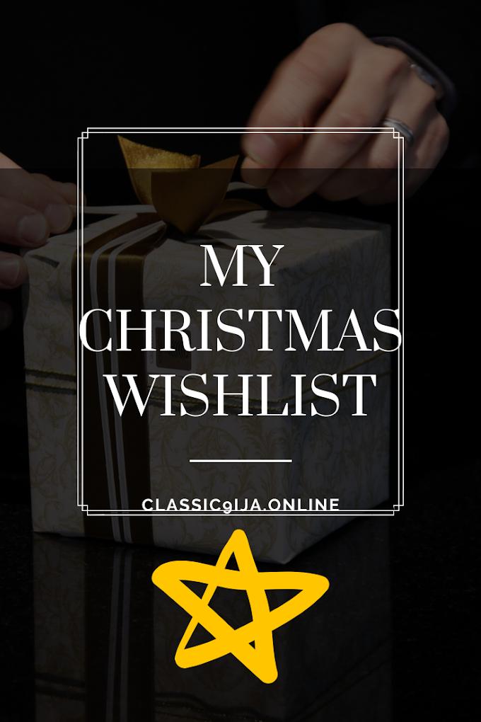 BLOGMAS: My Christmas Wishlist