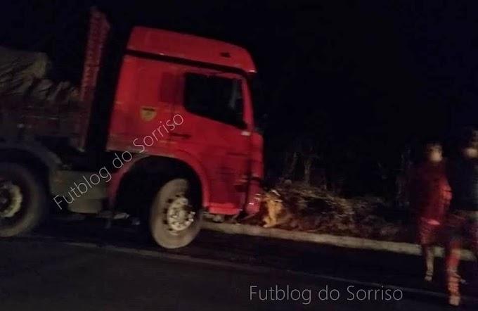 BR-381: mais um grave acidente ocorrido. Desta vez, próximo a Pedra Corrida, em Periquito.