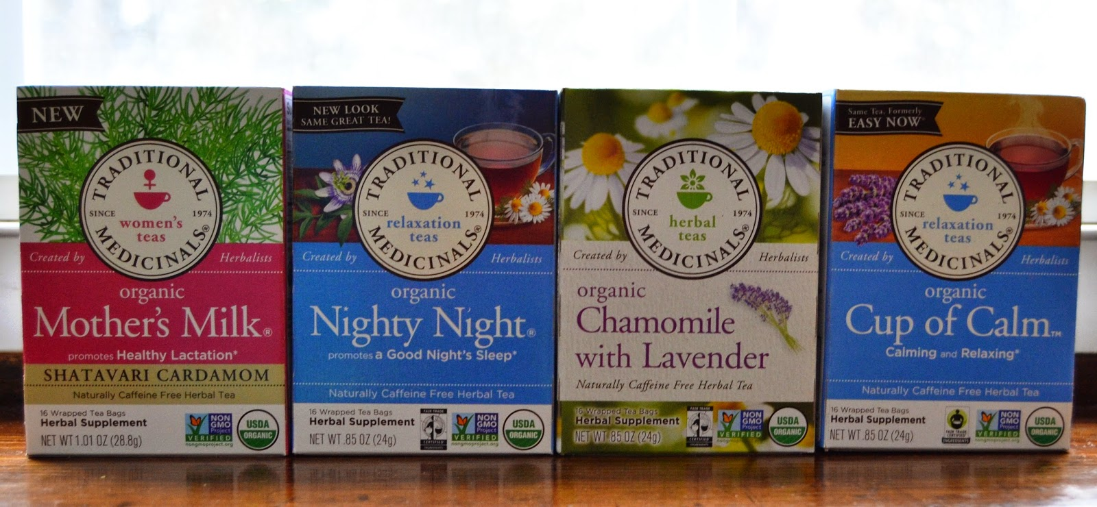 Traditional Medicinals Relaxation Teas