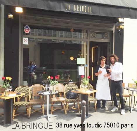 Escalier Le Restaurant Des Filles Paris La Bringue