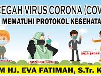 Download Spanduk Protokol Kesehatan.cdr