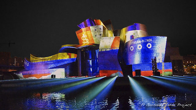 Museo Guggenheim Bilbao, por El Guisante Verde Project