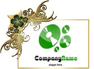 تحميل شعار اسطوانات مفتوح للفوتوشوب, CD psd logo design download