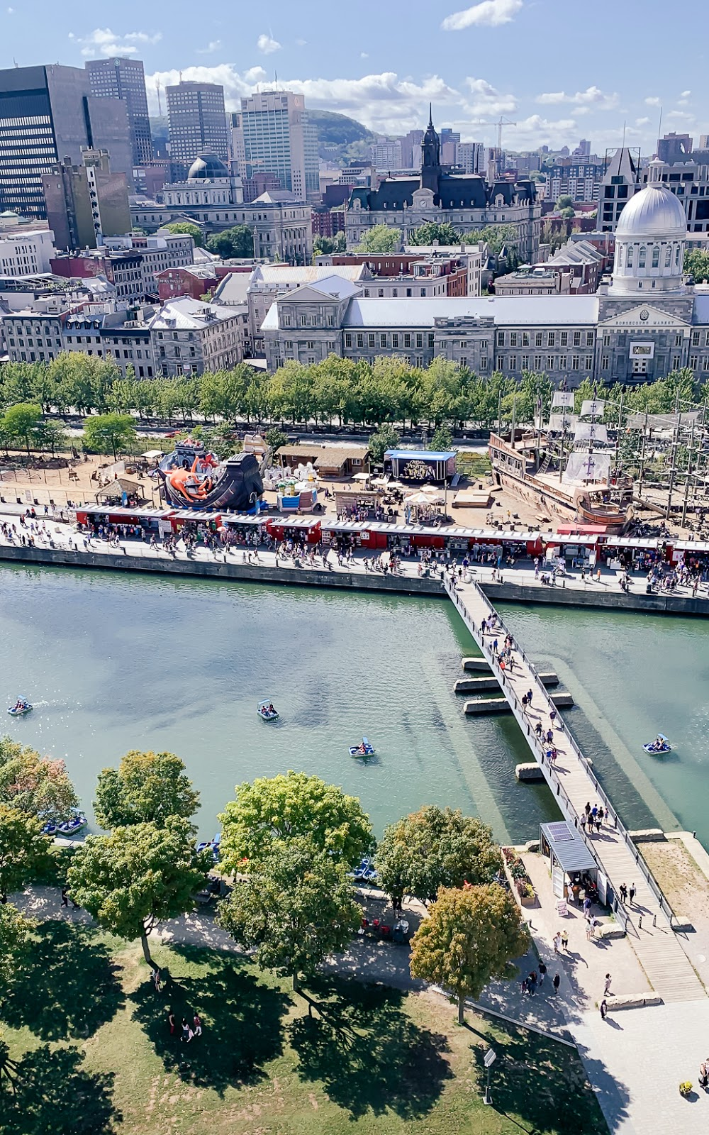 The Ferris Wheel Ride at Vieux (Old) Port Montreal: Things to Do in Montreal