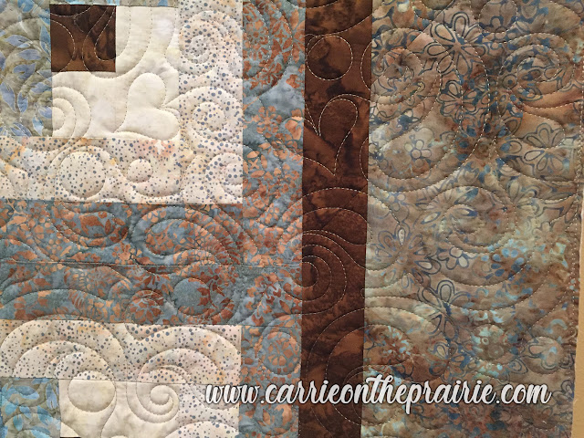 http://carrieontheprairie.blogspot.com/2019/05/log-cabin-wedding-quilt.html