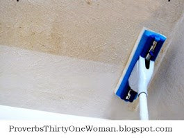 How to EASILY Clean Ceilings & Walls - Even in a Greasy Kitchen!