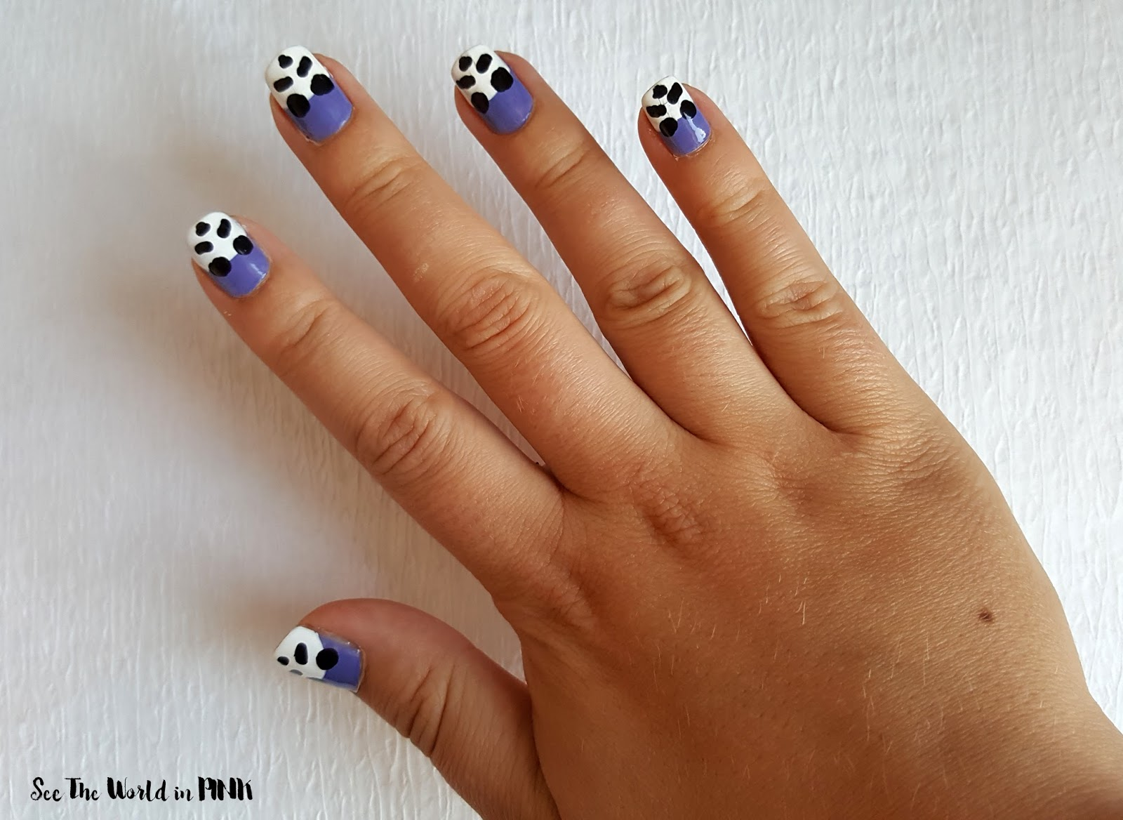 Manicure Tuesday - Panda Nail Art!