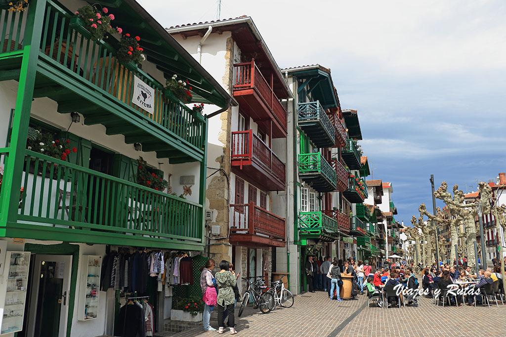 Calle de San Pedro de Hondarribia