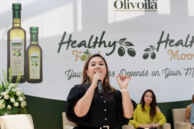 Olivoila healthy food healthy mood
