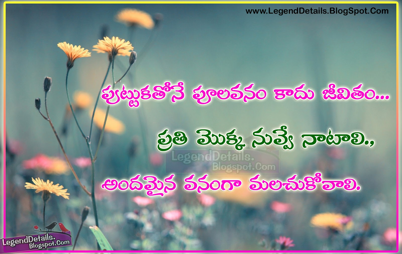 True Life Quotes Quotations Messages In Telugu Language Legendary