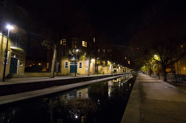 Rotherhithe di notte-Londra
