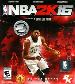 cover game basket NBA 2K16 terbaru