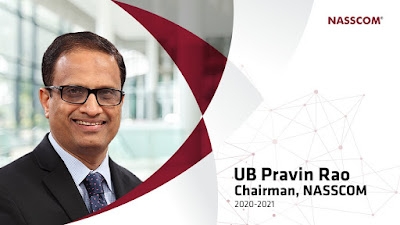UB Pravin Rao appointed as Chairman, Rekha Menon as vice chairperson of NASSCOM