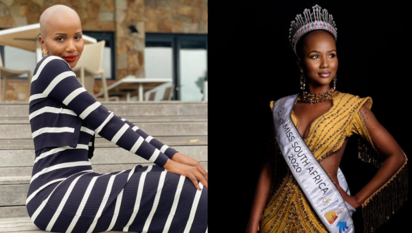 Shudufhadzo Musida es Miss South Africa 2020