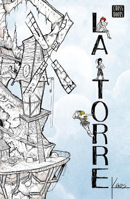 Libro -  La Torre. Kaos | Estudio Katastrófico (CrossBooks - 6 Febrero 2018) LITERATURA JUVENIL FANTASIA - YOUTUBER portada