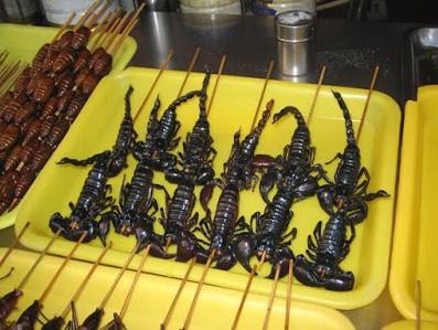 Gorengan Kalajengking Serta 5 Makanan Aneh Di Thailand