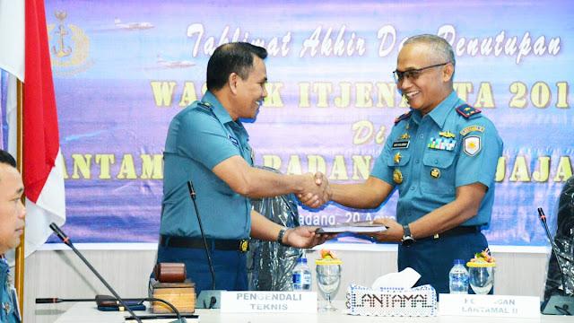 Taklimat Akhir Tanda ditutupnya Wasrik di Lantamal II Padang
